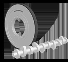 凸轮轴磨削用砂轮